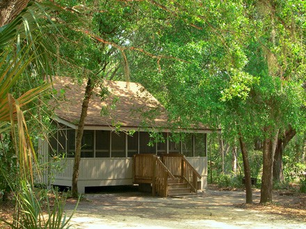 Cabins at blue springs state park florida florida rambler for Florida state parks cabins