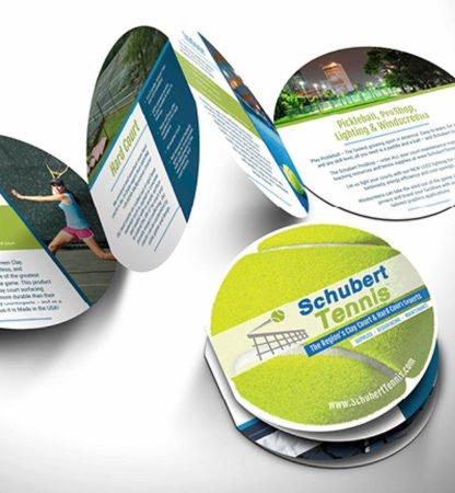 Die-Cut Sales Brochure - Flottman Company