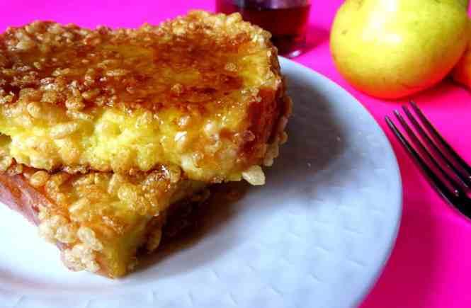 Rice Krispie French Toast
