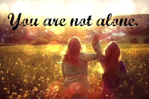 you are not alone1