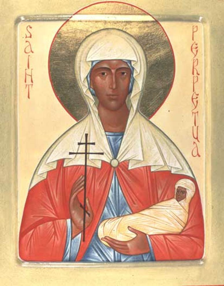 St_Perpetua_by_Fr_Andrew_Tregubov