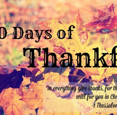 30 Days of Thankful: Day 8