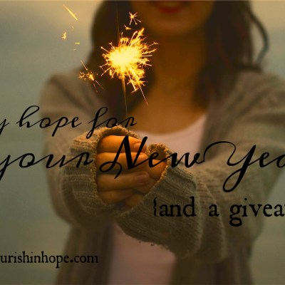 My Hope for YOUR New Year {And a Giveaway!}