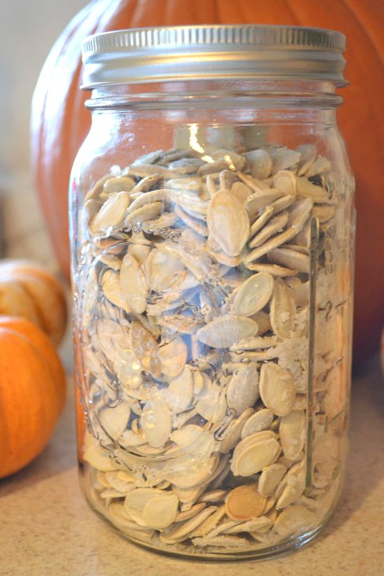 How to Clean and Roast Pumpkin Seeds-Flour On My Face