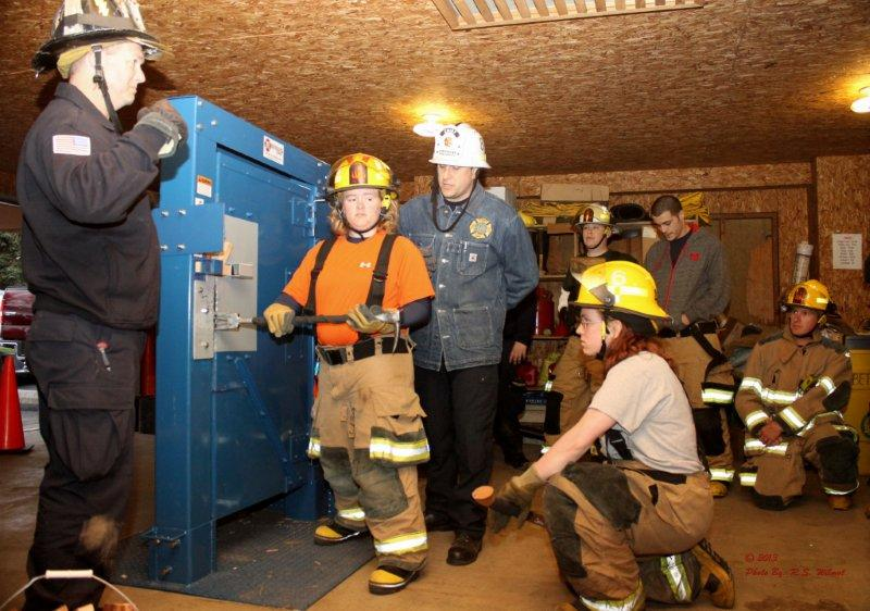 Forcible Entry Training With Prospect Park Fire Company