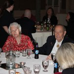 Bill House and his wife Audrey enjoy another banquet in their 70-year history with the fire company.