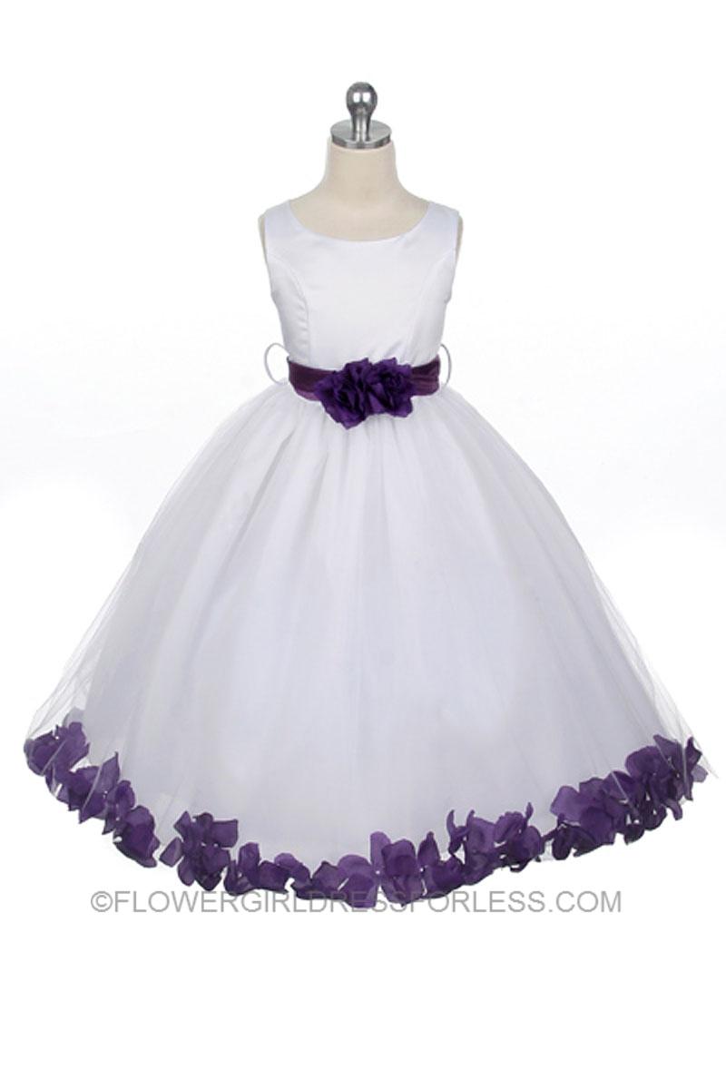 Fullsize Of Purple Flower Girl Dresses
