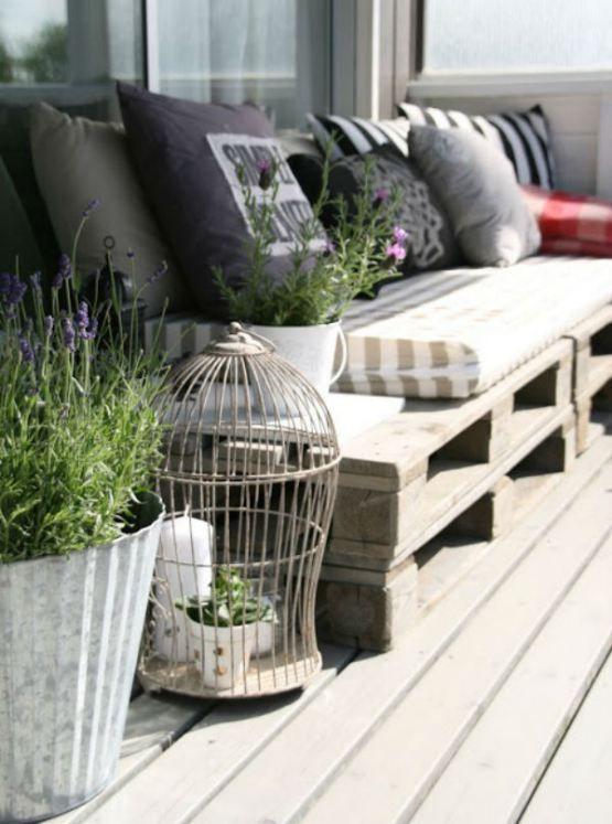 Decorar nuestra terraza con plantas y flores - Blog Floristería y - Decoracion De Terrazas Con Plantas