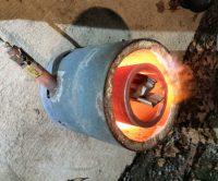 Homemade Propane Melting Furnace - Homemade Ftempo