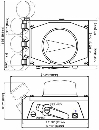 louver actuator motor del Schaltplan