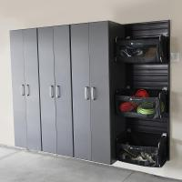 Tall Cabinet - Graphite Carbon by Flow Wall