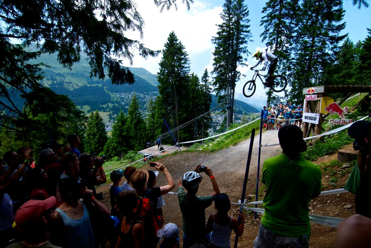 Downhill World Cup Lenzerheide: Unsere Fotos