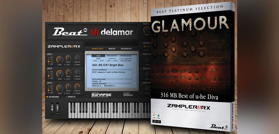 Glamour free zampler soundbank featuring sounds of u he diva - U he diva ...