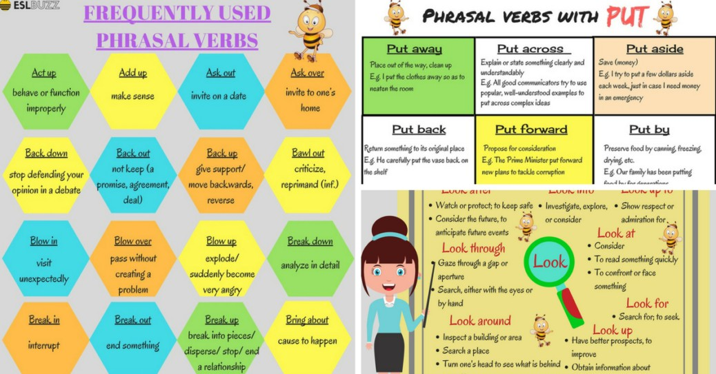 100+ of the Most Useful Phrasal Verbs in English (With Meaning