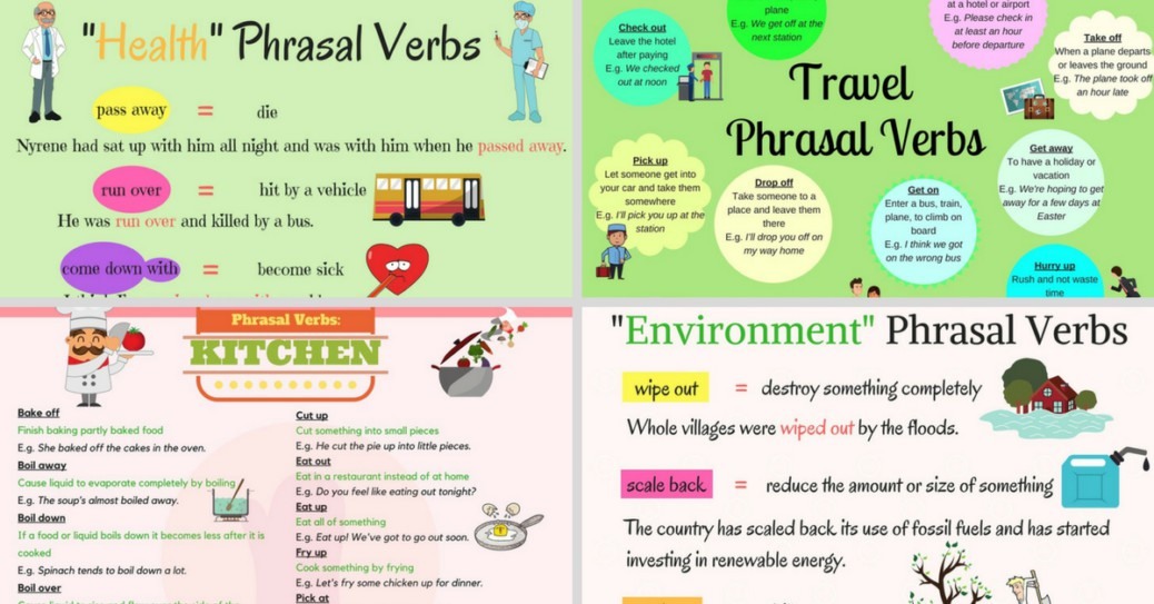 Most Useful Phrasal Verbs in English \u2013 Fluent Land