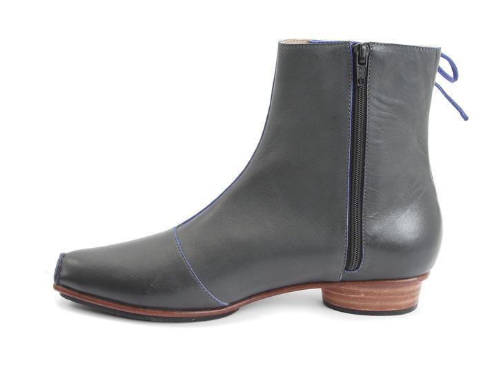 Fluevog Shoes Shop Northwood Grey Blue Leather