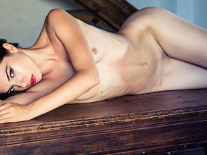 Model Chiara Bianchino. Photo Audey Cleveland