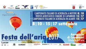 LOCANDINA FESTA DELL'ARIA ORIZZONTALE