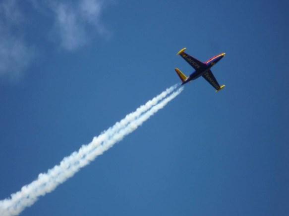 jet fighter ride