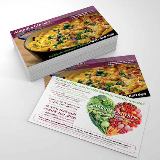 Home cooked food flyers Abigail\u0027s Kitchen home cooked healthy