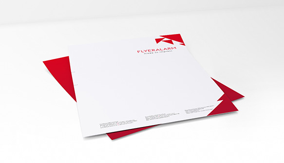 Letterheads   low cost printing   at FLYERALARM