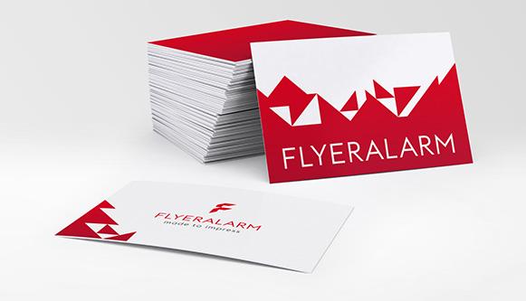 Imprimir tarjetas de visita online en FLYERALARM