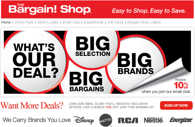 The Bargain Shop Weekly Flyer Online - Flyers Online