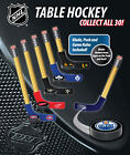2 NEW NHL TABLE HOCKEY MINI PUCKS  BLADES OFFICIALLY LICENSED WITH GAME RULES