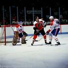 TIM KERR PHILADELPHIA FLYERS PLAYOFF 8X10 PHOTO VS MONTREAL CANADIENS 2