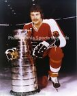 DAVE SCHULTZ PHILADELPHIA FLYERS CLASSIC 8X10 PHOTO WITH LORD STANLEY CUP