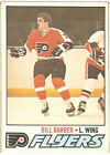 1977 78 77 78 O PEE CHEE OPC hockey card Bill Barber 227 EX+