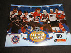 Philadelphia Flyers Alumni 2012 Winter Classic Game Scorecard NHL Collectible