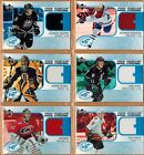 2005 06  UPPER DECK  ICE  COOL THREADS  JERSEY  PICK FROM DROP DOWN LIST