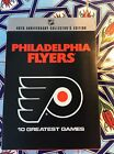 pre owned Philadelphia flyers 10 greatest games 10 disc DVD set 2006