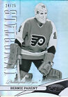 12 13 CERTIFIED MIRROR HOT BOX IMMORTALS 135 BERNIE PARENT 24 75 FLYERS 3177