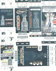 9 Philadelphia Flyers OLD Playoff regular Season tickets 1990s 2010s