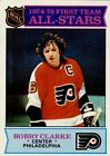 1975 76 O Pee Chee 286 Bobby Clarke AS1 NM