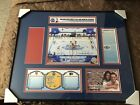 2012 NHL Winter Classic Ticket Frame Rangers vs Flyers