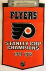 PHILADELPHIA FLYERS The Dynasty Collection 24 x 36 Genuine Wool Banner BRAND NEW