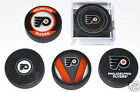 PHILADELPHIA FLYERS 5 PUCK LOT Instant Collection NHL Hockey Logos NEW Game+