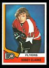 1974 75 TOPPS HOCKEY 260 BOBBY CLARKE NM PHILADELPHIA FLYERS FREE SHIP TO USA
