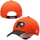 Philadelphia Flyers New Era Orange NHL Visor Streak 9FORTY Adjustable Hat