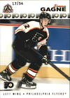 2001 02 FLYERS Pacific Adrenaline Red 139 Simon Gagne 54
