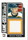 2013 14 ITG Decades 1990s Game Used Jerseys Black M17 John LeClair Jsy 84