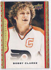 14 15 UD Masterpieces Framed Red Cloth 139 Bobby Clarke 048 100