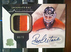 PHILADELPHIA FLYERS RON HEXTALL CERTIFIED AUTOGRAPH JERSEY PATCH CARD 08 75