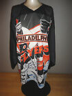 PHILADELPHIA FLYERS All Over Graphic 2 Sided CCM MASKA Jersey Adult Size Small
