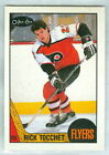 Rick Tocchet RC 1987 88 OPC 87 O Pee Chee Rookie Card 2 NM Philadelphia Flyers
