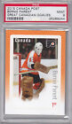 2015 Canada Post Great Canadian Goalies Bernie Parent PSA 9 Philadelphia Flyers