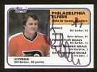Bill Barber signed autograph 1981 82 Topps Hockey Card